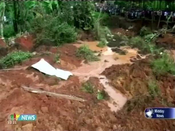 Δεκάδες νεκροί από κατολισθήσεις στο Καμερούν