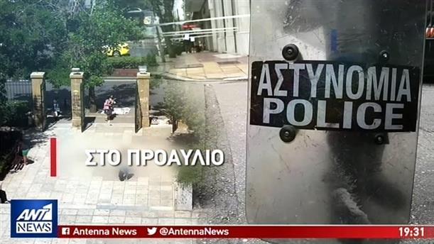 Έφοδο στον προαύλιο χώρο της ΑΣΟΕΕ έκανε η αστυνομία