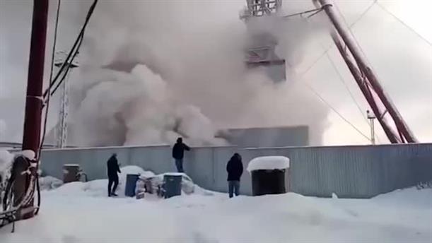 Νεκροί από φωτιά σε ορυχείο στην Ρωσία