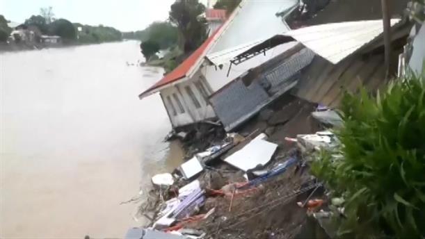 Φιλιππίνες: Φονικό το πέρασμα της τροπικής καταιγίδας Ουσμάν