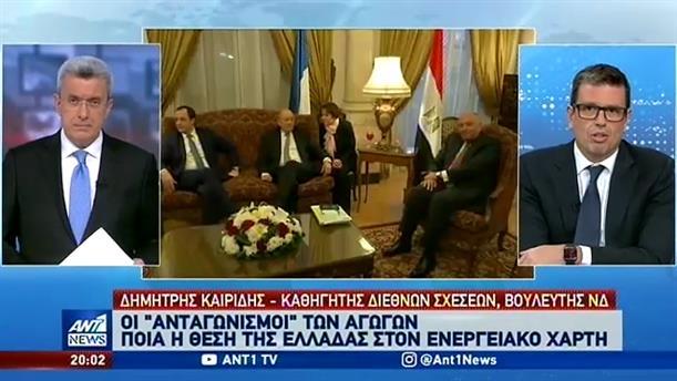 Ο Δημήτρης Καιρίδης στον ΑΝΤ1 για τον Τραμπ και την Λιβύη