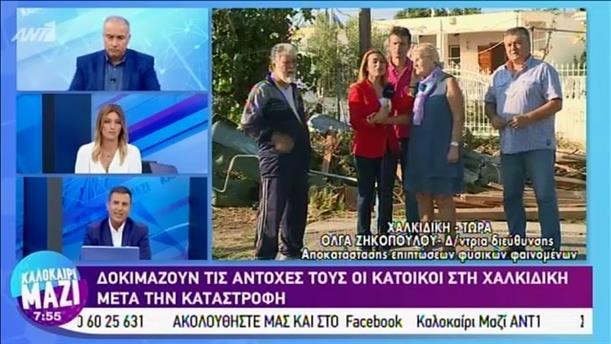 Η Χαλκιδική μετά την καταστροφική καταιγίδα - ΚΑΛΟΚΑΙΡΙ ΜΑΖΙ - 15/07/2019