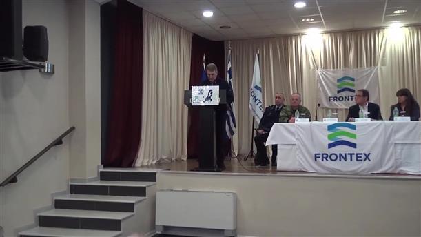 Ομιλία Χρυσοχοϊδη κατά την επίσκεψη, μαζί με τον επικεφαλής της FRONTEX, στον Έβρο