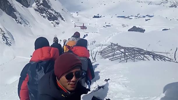 Aγνοούμενοι από χιονοστιβάδα στο Νεπάλ