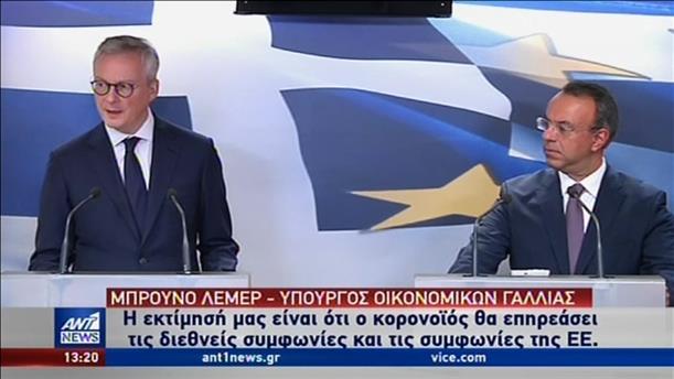 Ανησυχία Σταικούρα-Λεμέρ για το οικονομικό αποτύπωμα του κορονοϊου