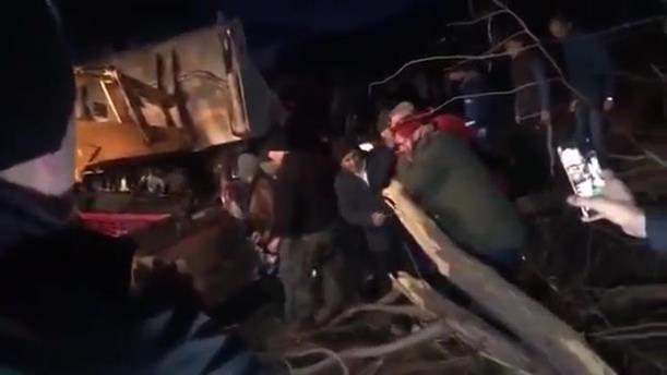 Δυστύχημα με λεωφορείο έξω από τα Σκόπια