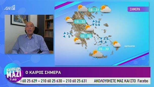 Καιρός - ΚΑΛΟΚΑΙΡΙ ΜΑΖΙ - 18/07/2019
