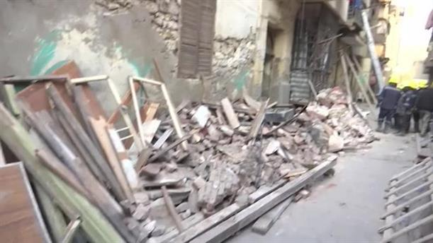 Κατάρρευση κτηρίου στο Κάιρο