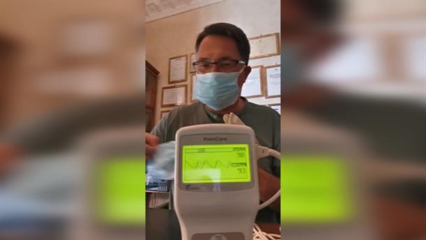 """Το """"πείραμα"""" καρδιολόγου φορώντας 7 μάσκες"""