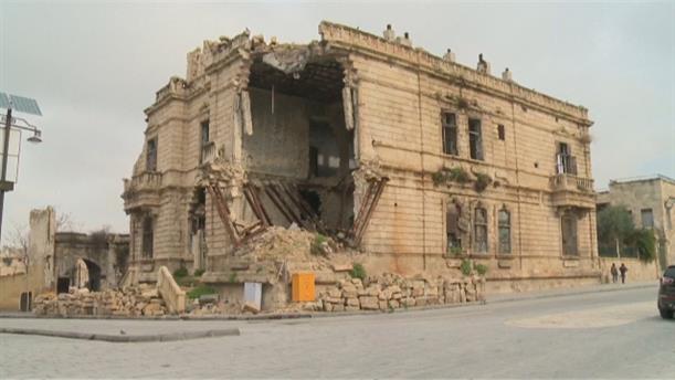 Ανακατασκευές στο Χαλέπι μετά από χρόνια πολέμου