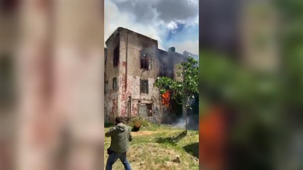 Φωτιά σε μονοκατοικία στο Πάρκο Κλωναρίδη
