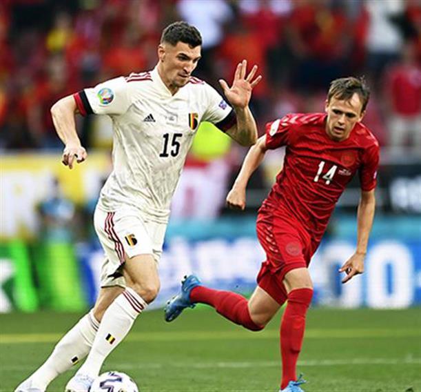 Euro 2020: το Βέλγιο νίκησε με ανατροπή τη Δανία 520