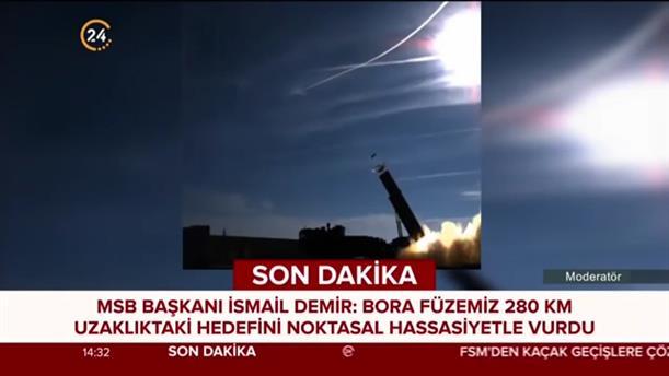 Ο τουρκικός βαλλιστικός πύραυλος, Μπόρα