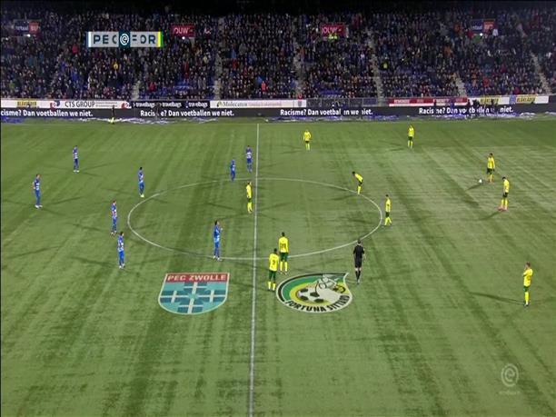Ολλανδία: Διαμαρτυρία ποδοσφαιριστών για τις ρατσιστικές επιθέσεις στα γήπεδα