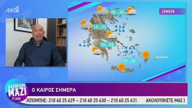 Καιρός - ΚΑΛΟΚΑΙΡΙ ΜΑΖΙ - 19/07/2019