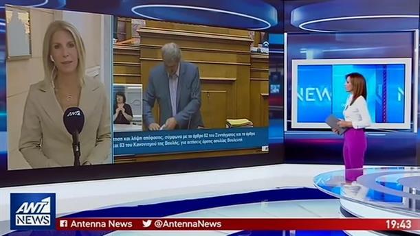 Συστάσεις Τασούλα στον υπεύθυνο του κυλικείου της Βουλής