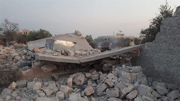 Συντρίμια από το κρυσφήγετο όπου ο αρχηγός του ISIS φέρεται να έχασε τη ζωή του