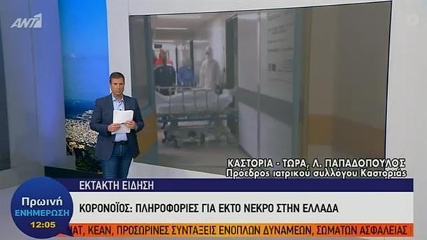 Λάζαρος Παπαδόπουλος – Πρωινή Ενημέρωση – 19/03/2020