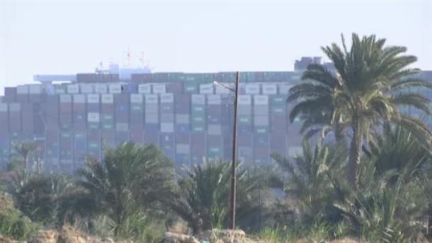 Μερική η αποκόλληση του πλοίου στη Διώρυγα του Σουέζ