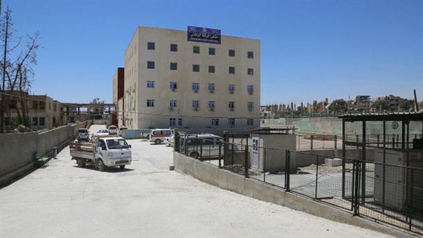 Εγκαίνια Εθνικού Νοσοκομείου στη Ράκκα