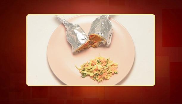 Τορτίγιες με κοτόπουλο του Κώστα - ορεκτικό - Επεισόδιο 61