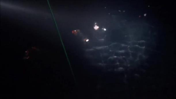 Βίντεο από την επιχείρηση διάσωσης ναυαγών στην Χάλκη