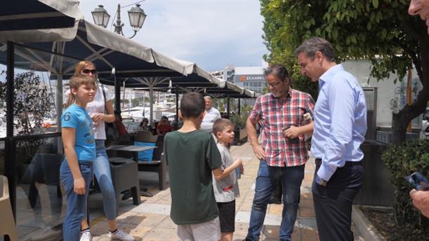 Επίσκεψη του Πρωθυπουργού στον Πειραιά