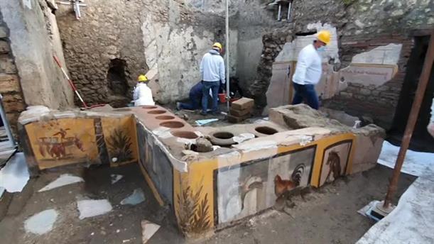 Αρχαίο φαστ φουντ ανακαλύφθηκε στην Πομπηία