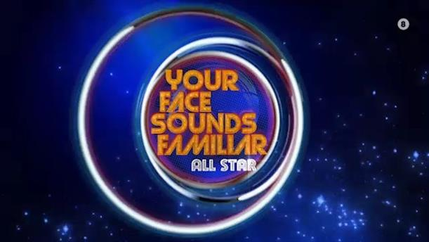Your Face Sounds Familiar ALL STAR