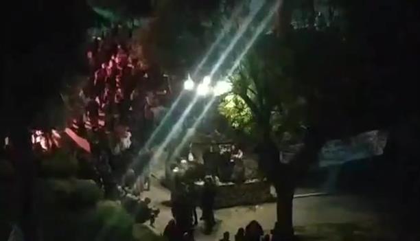 Κορονοπάρτι στην πλάτεία  Όλγας