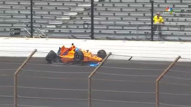 Ατύχημα για τον Αλόνσο στο Indianapolis 500