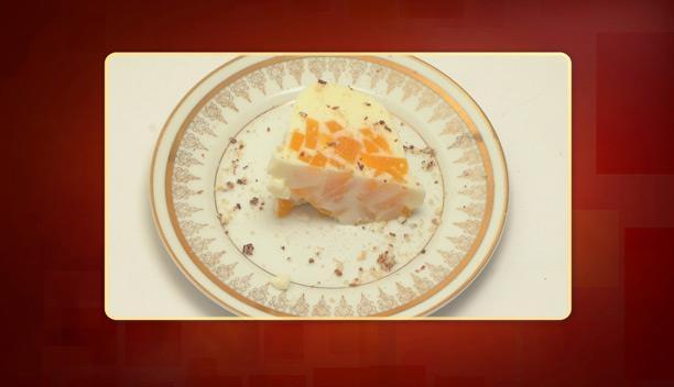 Γιαουρτοζελέ με κομπόστα ροδάκινο του Τάσου - Επιδόρπιο - Επεισόδιο 69