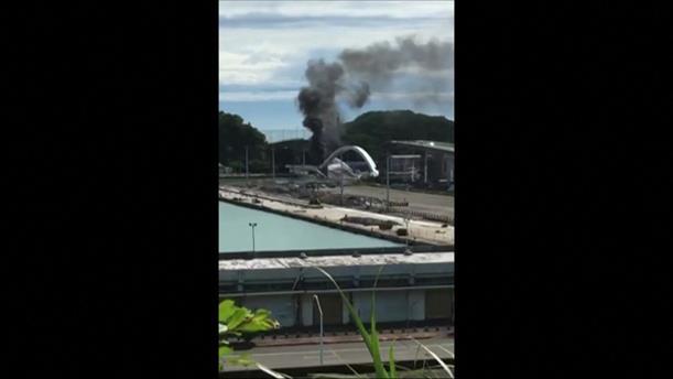 Γέφυρα κατέρρευσε σε λιμάνι της Ταϊβάν