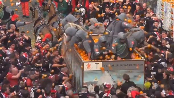 Πόλεμος πορτοκαλιών στην Ιταλία