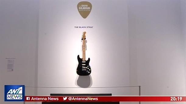 Πλήρωσαν 20 εκ. δολάρια για κιθάρες του Ντέιβιντ Γκίλμουρ
