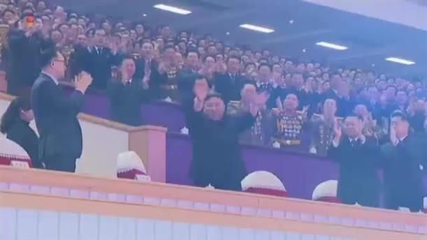 Ο Κιμ Γιονγκ Ουν σε μεγάλη συναυλία στη Βόρεια Κορέα