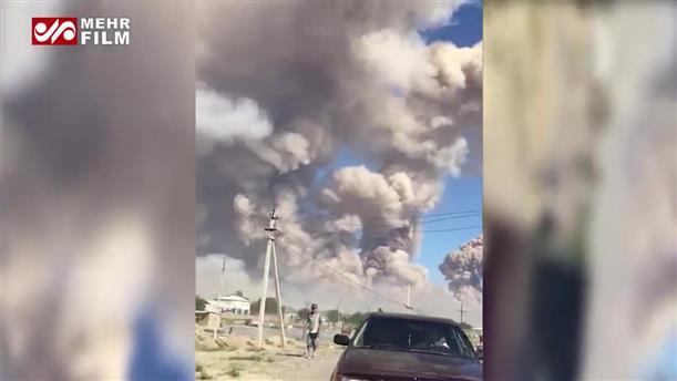 Καζακστάν: Μπαράζ εκρήξεων σε αποθήκη πυρομαχικών