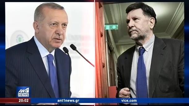 Αποχώρησε η ελληνική αποστολή από ομιλία του Ερντογάν