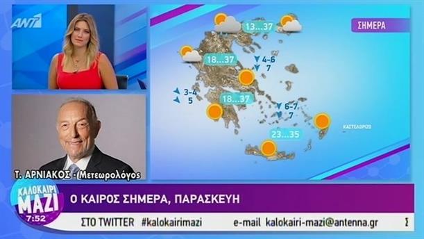 Καιρός - ΚΑΛΟΚΑΙΡΙ ΜΑΖΙ - 30/08/2019