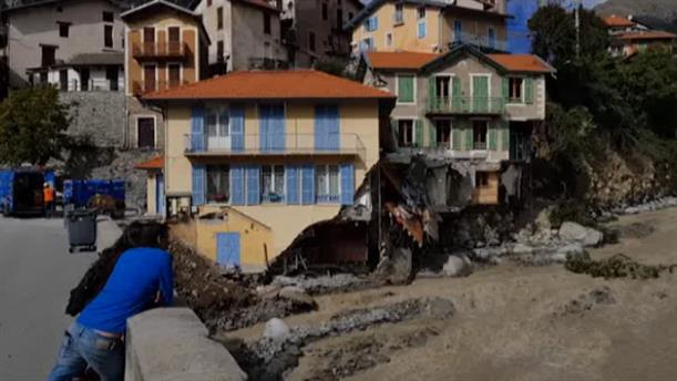 Γαλλία: Καταστροφικές πλημμύρες στις Άλπεις
