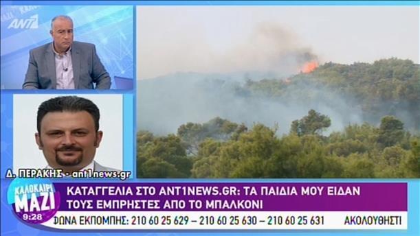 Καταγγελία στο ANT1News.gr: Τα παιδιά μου είδαν τους εμπρηστές από το μπαλκόνι