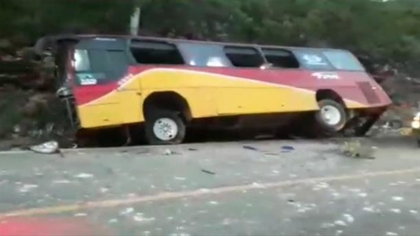 Δυστύχημα με λεωφορείο στο Μεξικό