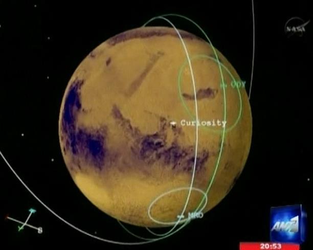 Curiosity: Φωνή από άλλο πλανήτη