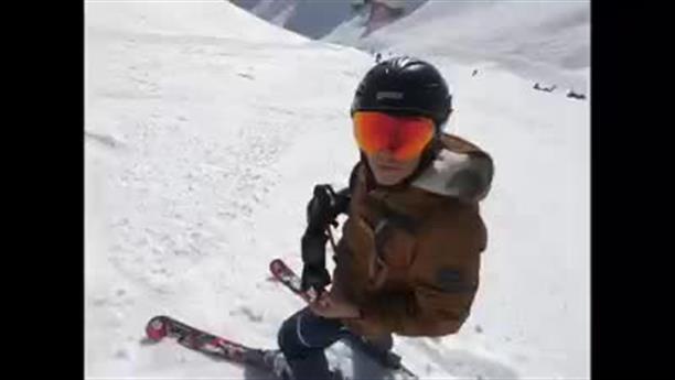 Η στιγμή που η χιονοστιβάδα στο Κραν Μοντανά θάβει τους σκιέρ