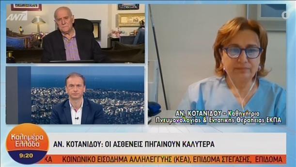 """Η Αν. Κοτανίδου στην εκπομπή """"Καλημέρα Ελλάδα"""""""
