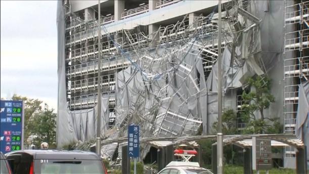Φονικός ο τυφώνας Φασάι στο Τόκιο