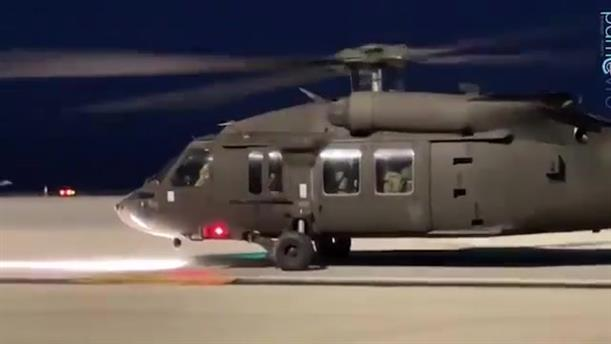 Τα πρώτα αμερικανικά UH-60 Black Hawks προσγειώθηκαν στην Αλεξανδρούπολη