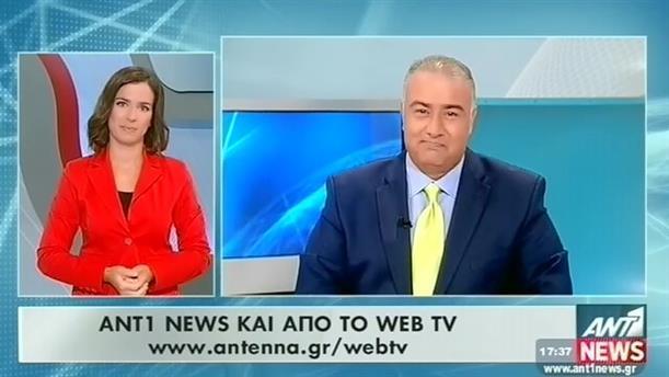 ANT1 News 13-08-2015 στη Νοηματική