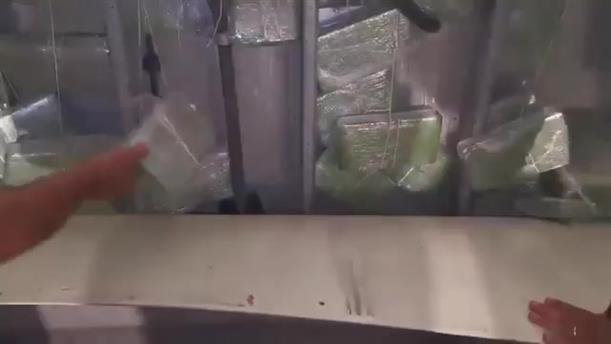 Εντοπίστηκαν και κατασχέθηκαν 700 κιλά κοκαΐνη στο Γ' τελωνείο Πειραιά