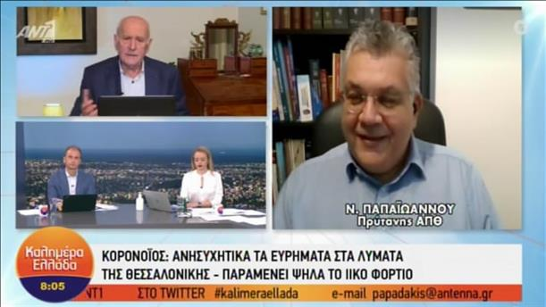 Ν.Παπαϊωάννου - Πρύτανης ΑΠΘ - ΚΑΛΗΜΕΡΑ ΕΛΛΑΔΑ - 03/12/2020